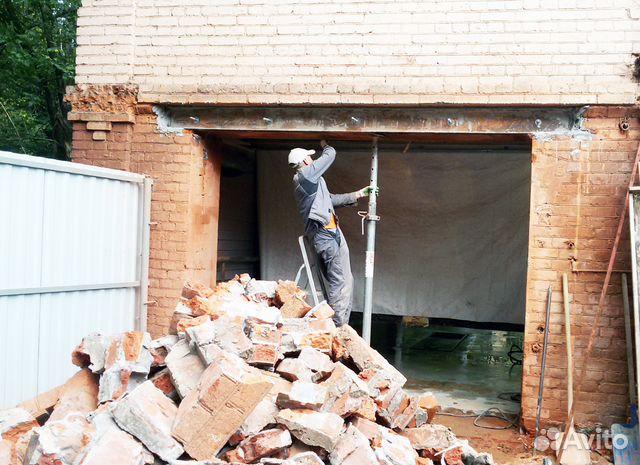 Услуги демонтаж бетона виброрейка для бетона бензиновая купить в новосибирске