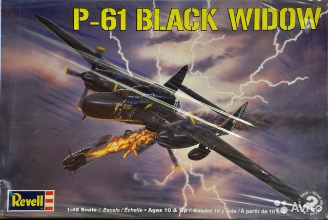 1/48 P-61 Black Widow brs8— фотография №1