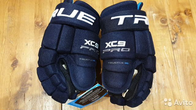 89036020550 Хоккейные перчатки True xc9 acf pro, p. 12, новые