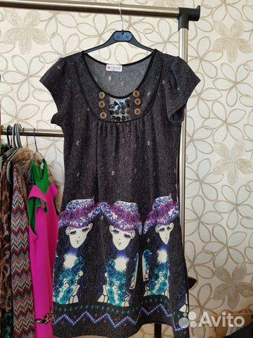 Платье подростковое трикотаж 40/44  купить 1