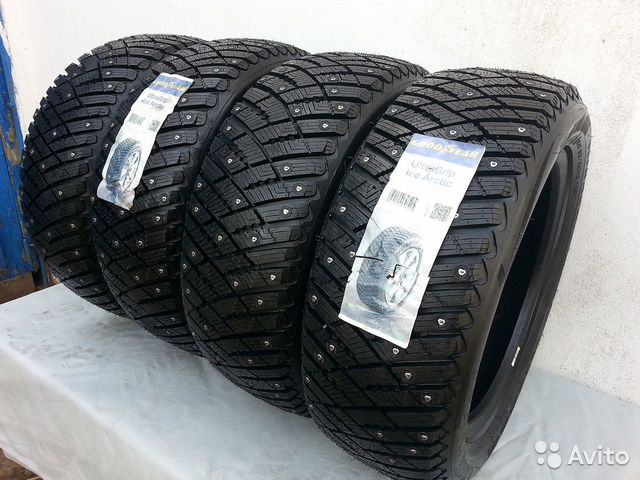 285/60R18 Goodyear Ultra Grip Ice Arctic XL SUV шп— фотография №1