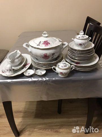 Сервиз столовый,настоящий польский 70 годов,15 тыс 89634092565 купить 1