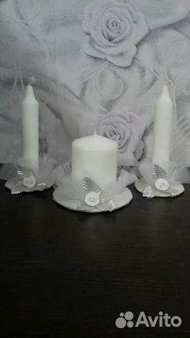 Свеча свадебная