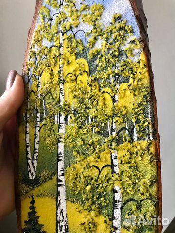 Картина (панно) из натурального камня 89026306182 купить 1