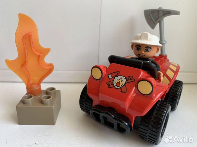 Пожарная машинка lego duplo