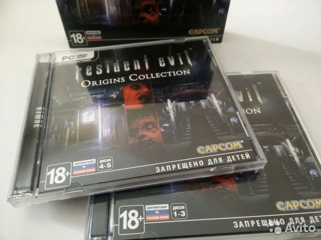 Resident Evil коллекция купить 4