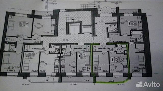 1-к квартира, 32 м², 1/10 эт. 89157705828 купить 1