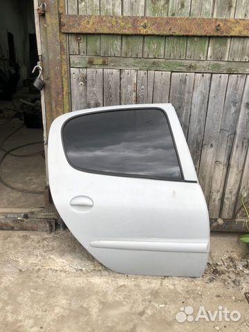Задняя правая дверь Пежо 206 Peugeot 206 89531949555 купить 1