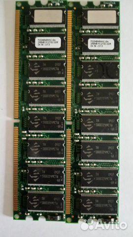 Оперативная память DDR pc 2700, 256 mb