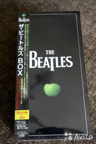The Beatles Box japan authentic NEW 16CD+DVD tocp7  купить 2