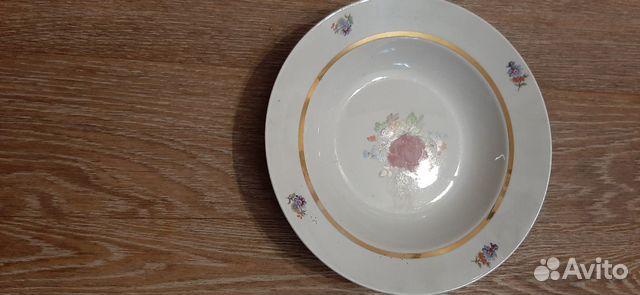 Тарелка фарфоровые глубокая  89878100141 купить 2