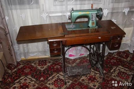 Китайская швейная машинка Летающий Человек 1956г