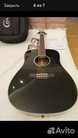 Гитара акустическая Crafter D8/bk