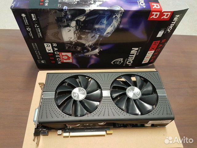 Sapphire Radeon RX 580 4Gb Nitro+  89113445593 купить 1