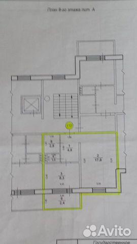 1-к квартира, 38 м², 8/10 эт.  89606295127 купить 10