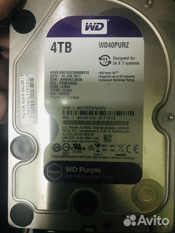 Жесткий диск WD Purple 4TB