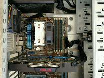 Игровой компьютер asus intel i5, 16gb, 1070gtx8gb