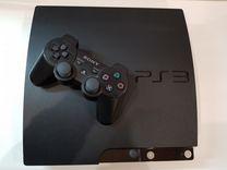 Консоль Sony PlayStation 3 Slim 320гб 16 игр