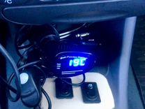 Вольтметр-Часы-термометр — Запчасти и аксессуары в Саратове