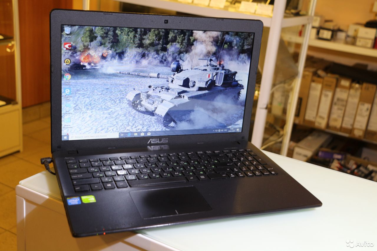 Asus c GeForce 820 + Новый Аккумулятор + Гарантия