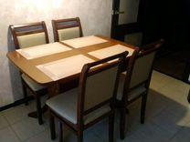 Кухонный стол и 4 стула