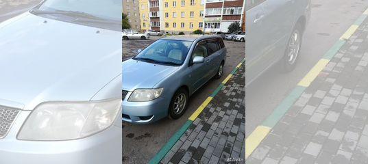 Toyota Corolla Fielder, 2005 купить в Челябинской области | Автомобили | Авито