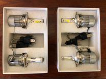 Лампочки H-4 LED 6500К