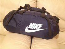 Сумка-рюкзак Nike тёмно синия новая — Одежда, обувь, аксессуары в Санкт-Петербурге