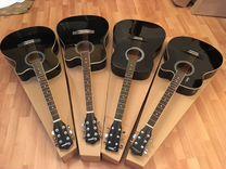 Гитара акустическая новая на анкере / аксессуары
