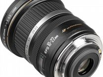 Объектив Canon EF-S 10-22mm F3.5-4.5 US