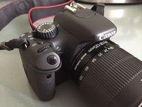 Фотоаппарат Canon 550D efs 18-135