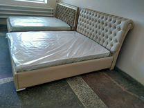 Кровать двуспальная размер 1 м 60 см на 2 м