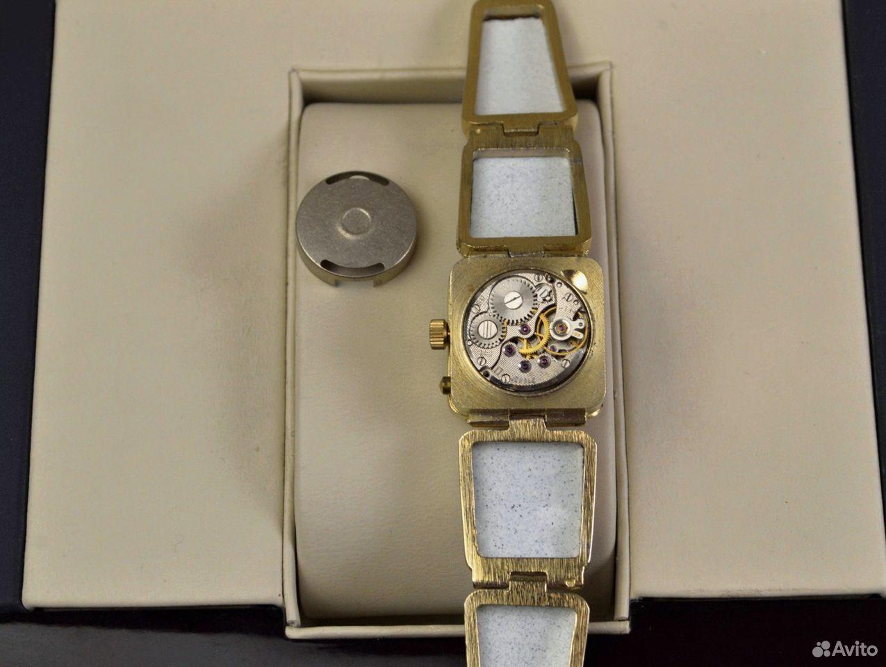 Женские часы Чайка Новые 17 камней Россия 1998 год  89525003388 купить 8