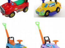 Руль для машинки-каталки Полесье: Джип или Пикап