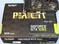 Видеокарта Palit Dual GTX 1060 6gb