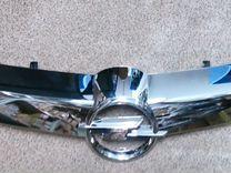Молдинг хром решетки радиатора Opel Astra H 07-12