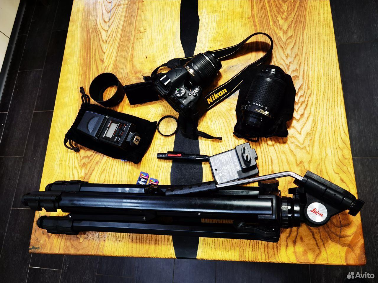 Зеркальный фотоаппарат Nikon D5100 Dauble VR Обмен  89185656006 купить 10