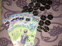 100 рублей с чемпионатом 2018 — Коллекционирование в Нижнем Новгороде