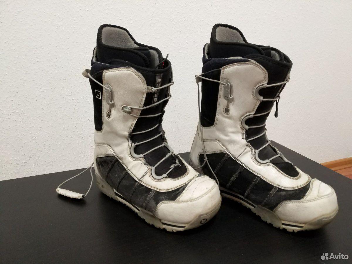 Сноубордические ботинки burton ruler 42 размер  89655330861 купить 1
