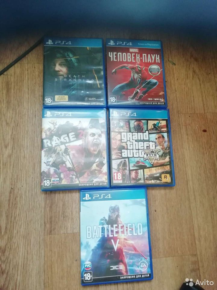 Sony PS4, 5 крутых игр ps4  89532066410 купить 1