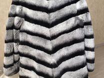 Шуба,натуральный мех рекс (шиншилла) — Одежда, обувь, аксессуары в Краснодаре