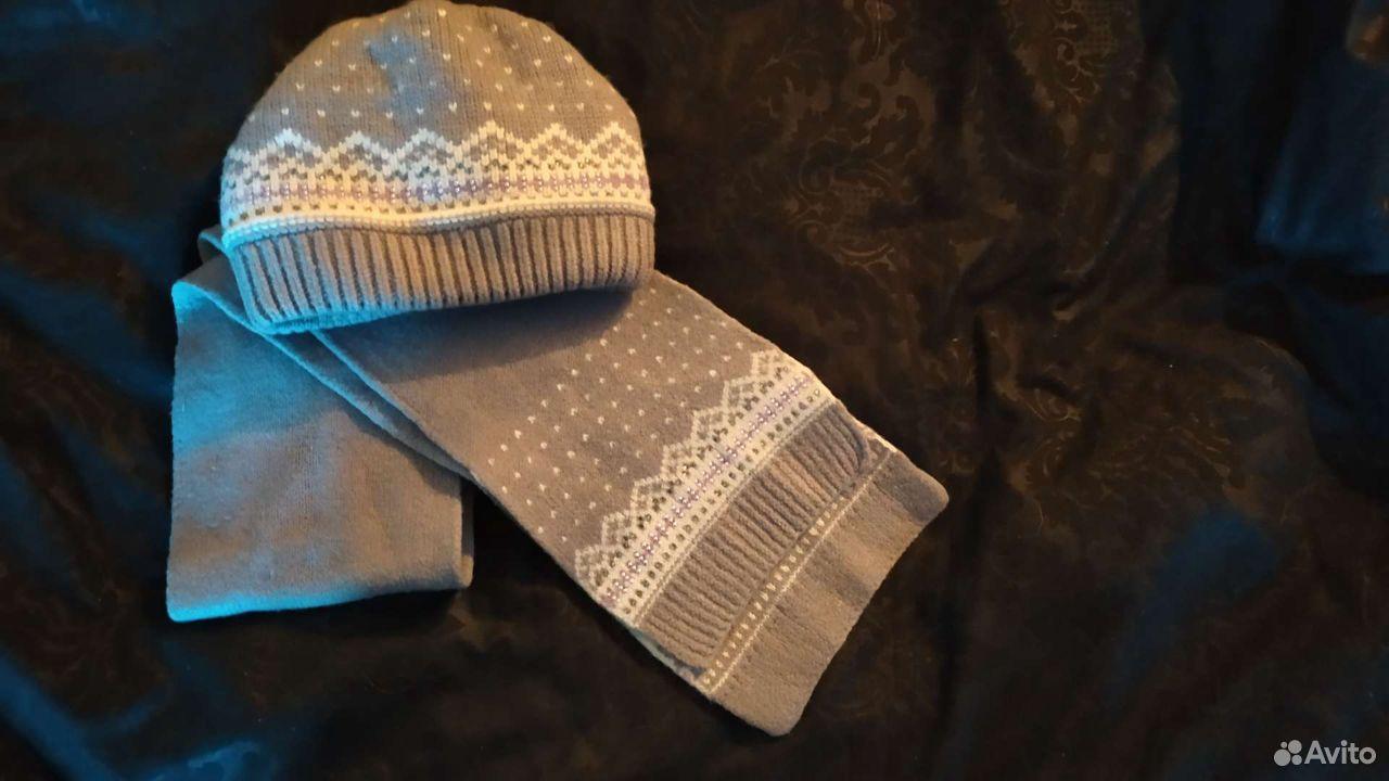 Комплект шапка+шарф  89103642984 купить 1