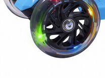 Самокат 3-колесный 3D Casper, синий
