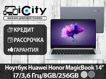 "Ноутбук Huawei Honor MagicBook 14"" i7/8GB/256GB"