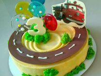 Шоколадная картинка для торта