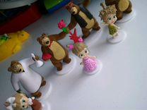 Игрушки из свит боксов Маша и Медведь