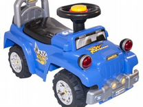 Машинка-каталка Super Jeep, синий, доставка