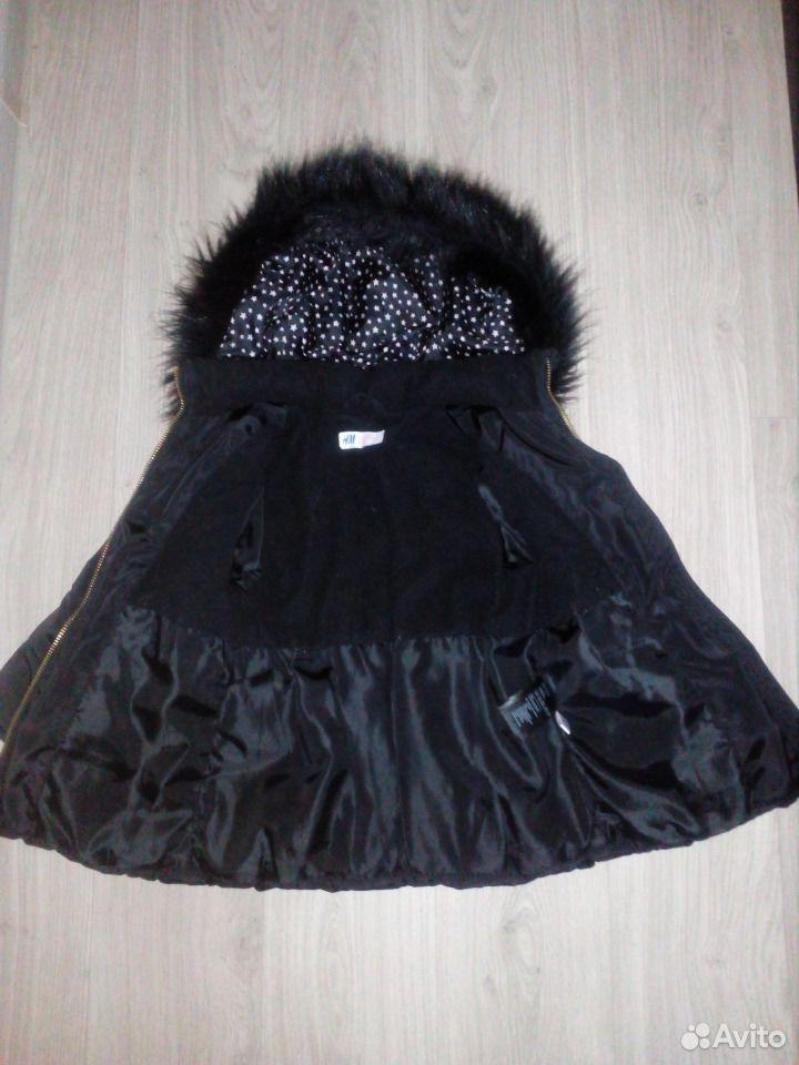 Куртка H&M холодный деми 104 и 110 р-р  89528067023 купить 3