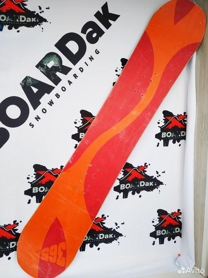 Сноуборд красный 365, в хорошем состоянии
