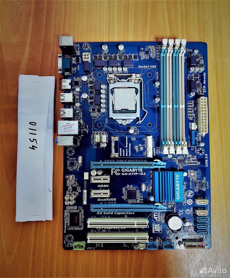 Материнская плата 1155 Gigabyte GA-Z77P-D3 rev.1.1 89538085333 купить 1